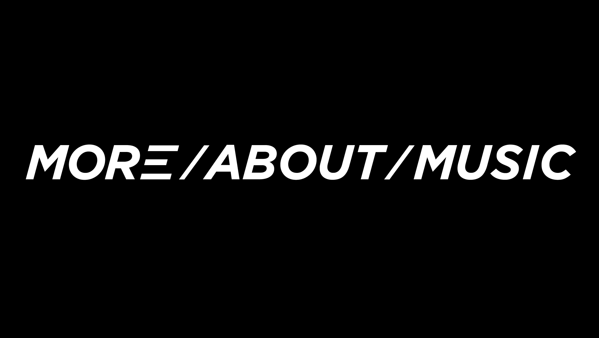 More About Music wide Logo white-01